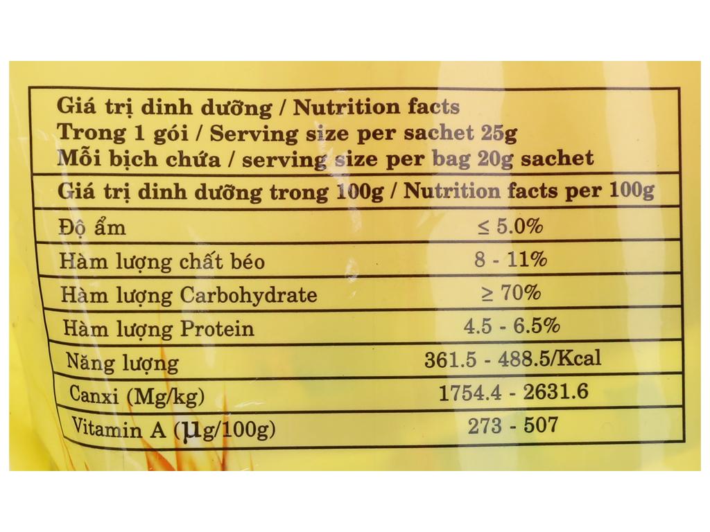 Ngũ cốc ăn kiêng Best Choice Gạo lứt bịch 540g 3