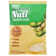 Sữa đậu nành Nuti bịch 200ml