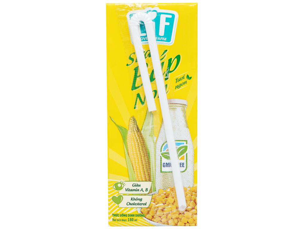 Lốc 4 hộp sữa bắp non LiF 180ml 10