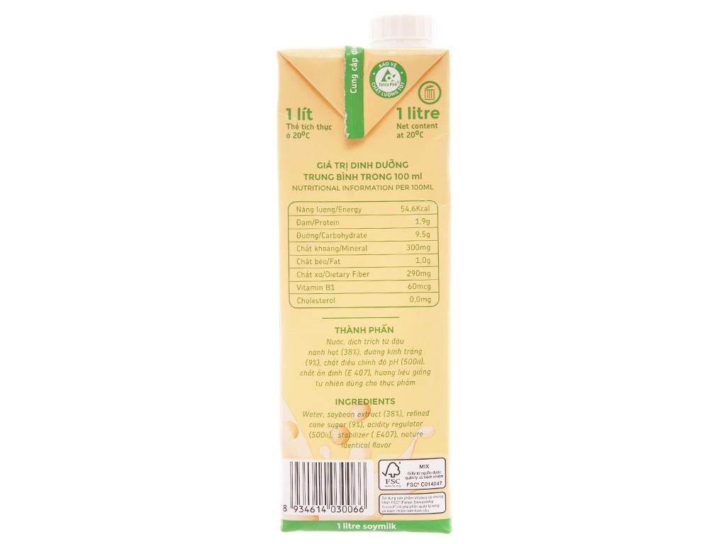 Sữa đậu nành Fami nguyên chất 1 lít 4