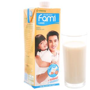 Sữa đậu nành Fami Canxi 1 lít