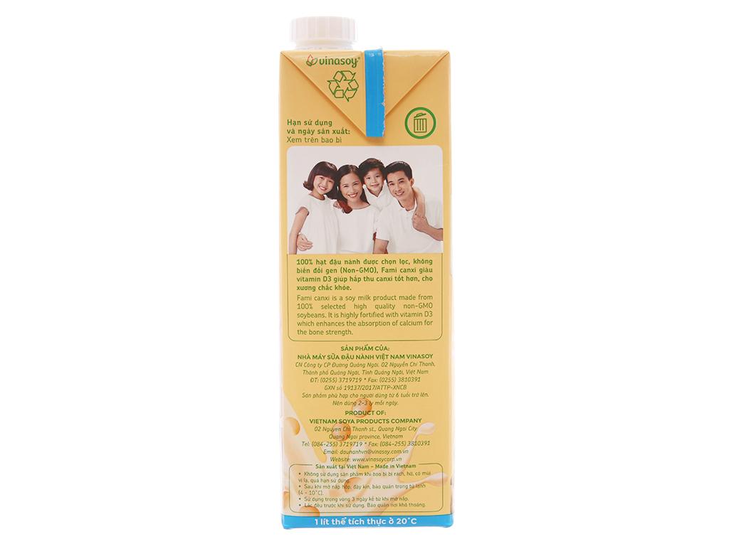 Sữa đậu nành Fami Canxi 1 lít 4