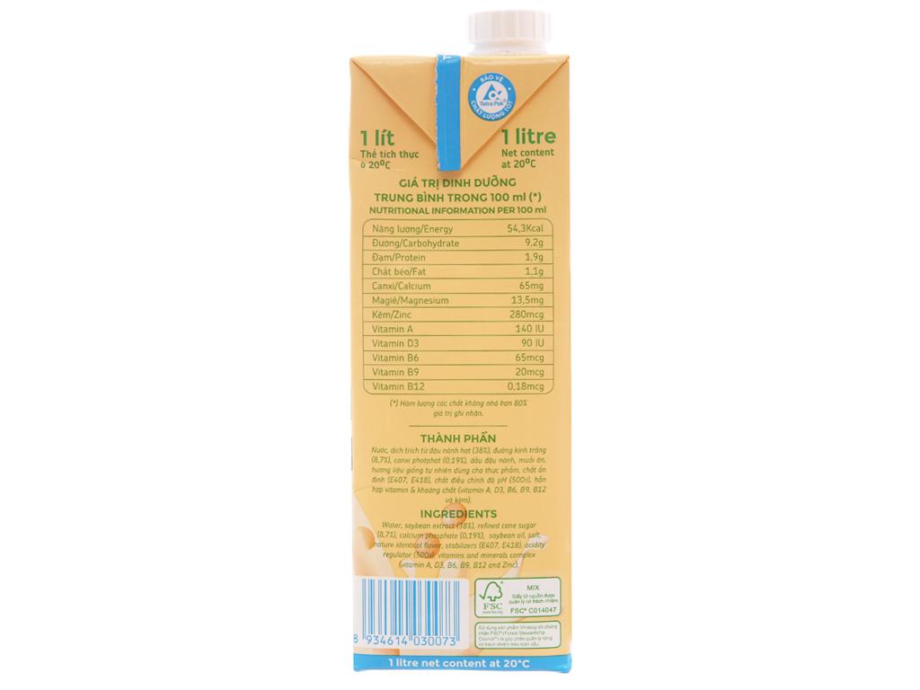 Sữa đậu nành Fami Canxi 1 lít 5