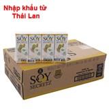 Sữa đậu nành Soy Secretz bắp ngọt hộp 180ml (Thùng 48 hộp)