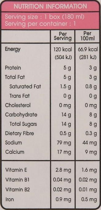 Lốc 4 hộp Sữa đậu nành Collagen Soy Secretz 180ml 5