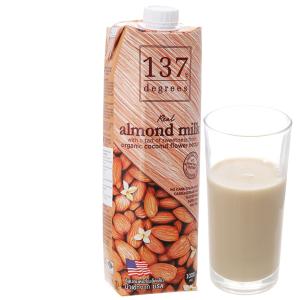 Sữa hạnh nhân 137 Degrees nguyên chất 1 lít