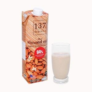 Sữa hạnh nhân nguyên chất 137 Degrees 1 lít