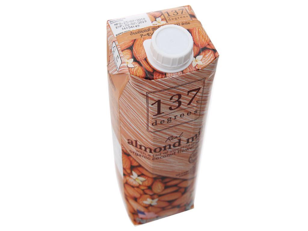 Sữa hạnh nhân 137 Degrees nguyên chất 1 lít 3