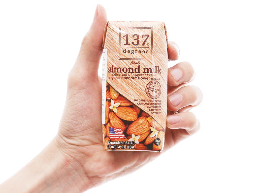 Lốc 3 hộp Sữa hạnh nhân 137 Degrees truyền thống 180ml 4