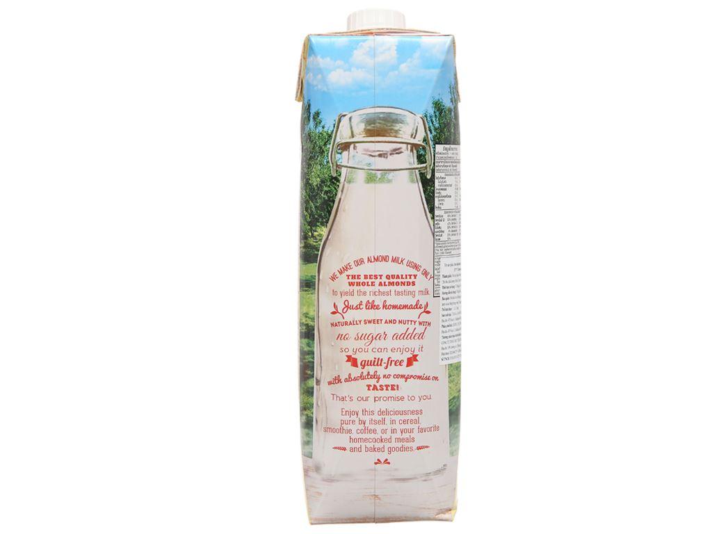 Sữa hạnh nhân không đường 137 Degrees nguyên chất 1 lít 3