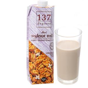 Sữa hạt óc chó 137 Degrees nguyên chất 1 lít
