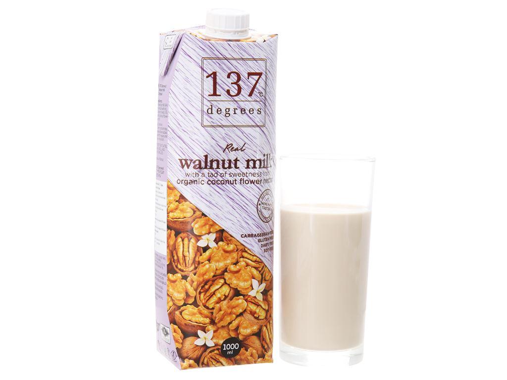 Sữa hạt óc chó 137 Degrees nguyên chất 1 lít 2