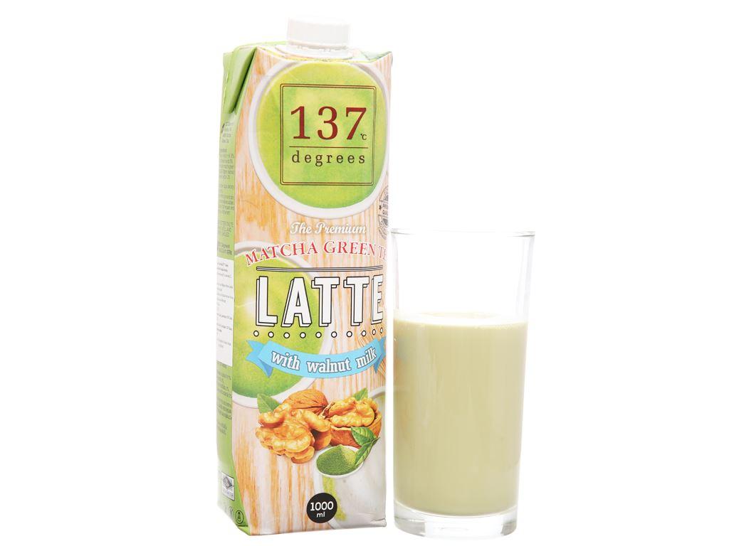 Sữa hạt óc chó trà xanh 137 Degrees 1 lít 2