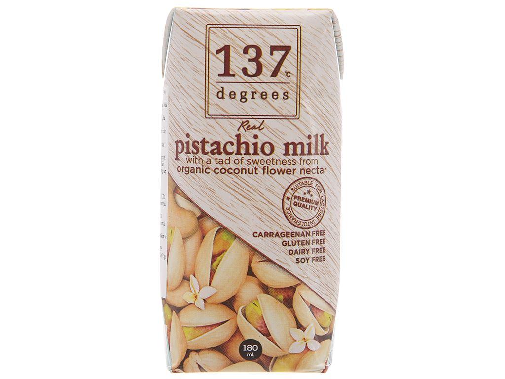 Sữa hạt dẻ cười 137 Degrees truyền thống 180ml 2
