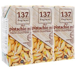 Lốc 3 hộp Sữa hạt dẻ cười 137 Degrees truyền thống 180ml