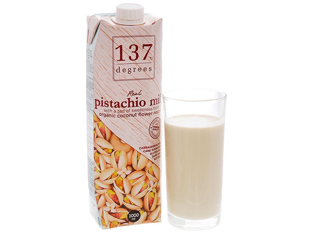Sữa hạt dẻ cười nguyên chất 137 Degrees hộp 1 lít 2