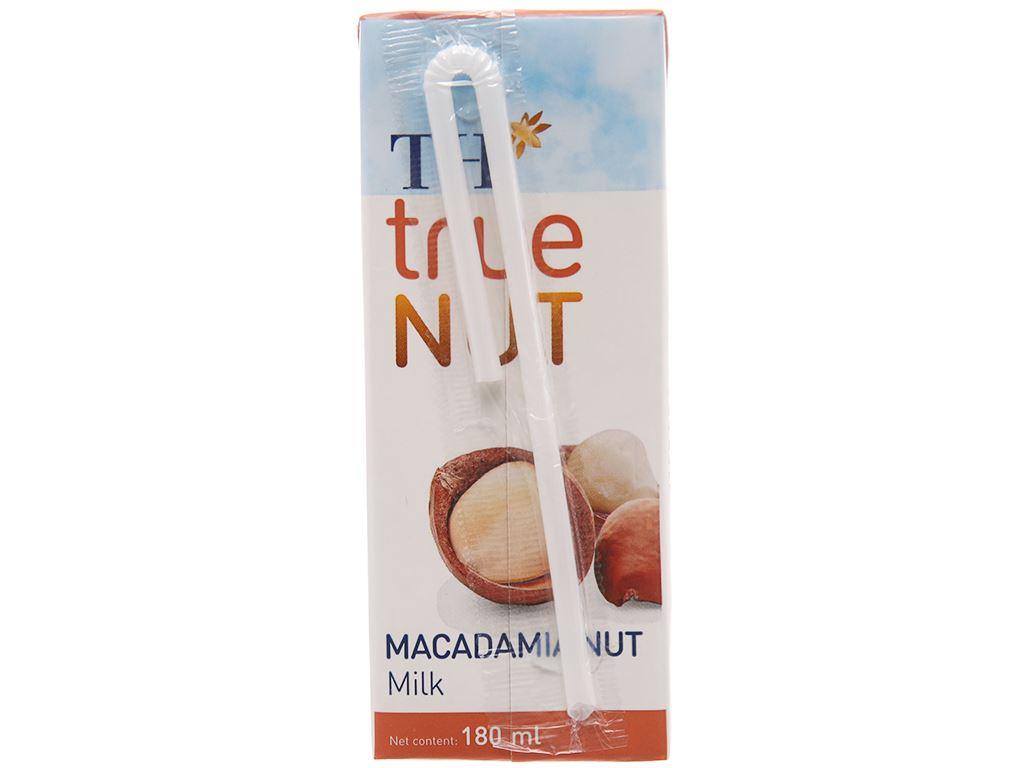 Lốc 4 hộp Sữa hạt macca TH True Nut 180ml 3