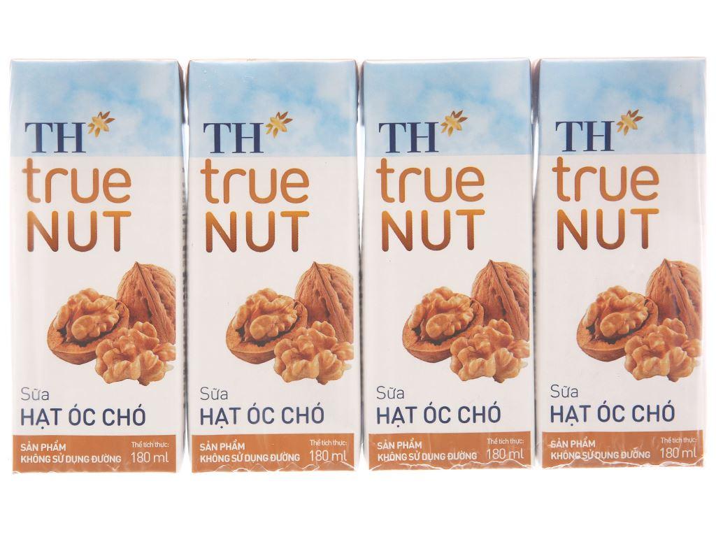 Lốc 4 hộp sữa hạt óc chó TH True Nut 180ml 1