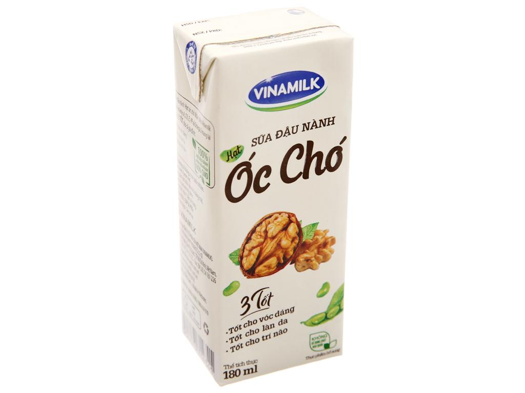 Sữa đậu nành hạt óc chó Vinamilk 180ml 2