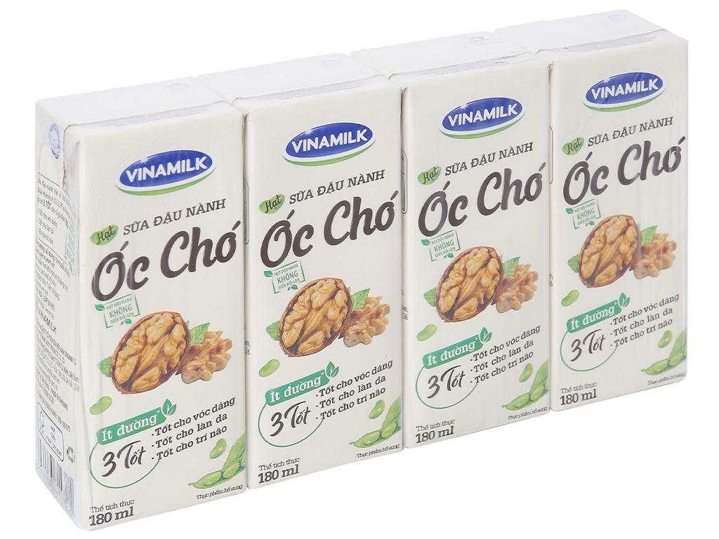 Thùng 48 hộp sữa đậu nành óc chó Vinamilk 180ml 2