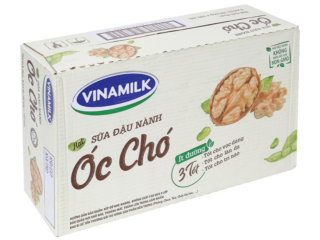 Thùng 48 hộp sữa đậu nành óc chó Vinamilk 180ml 1