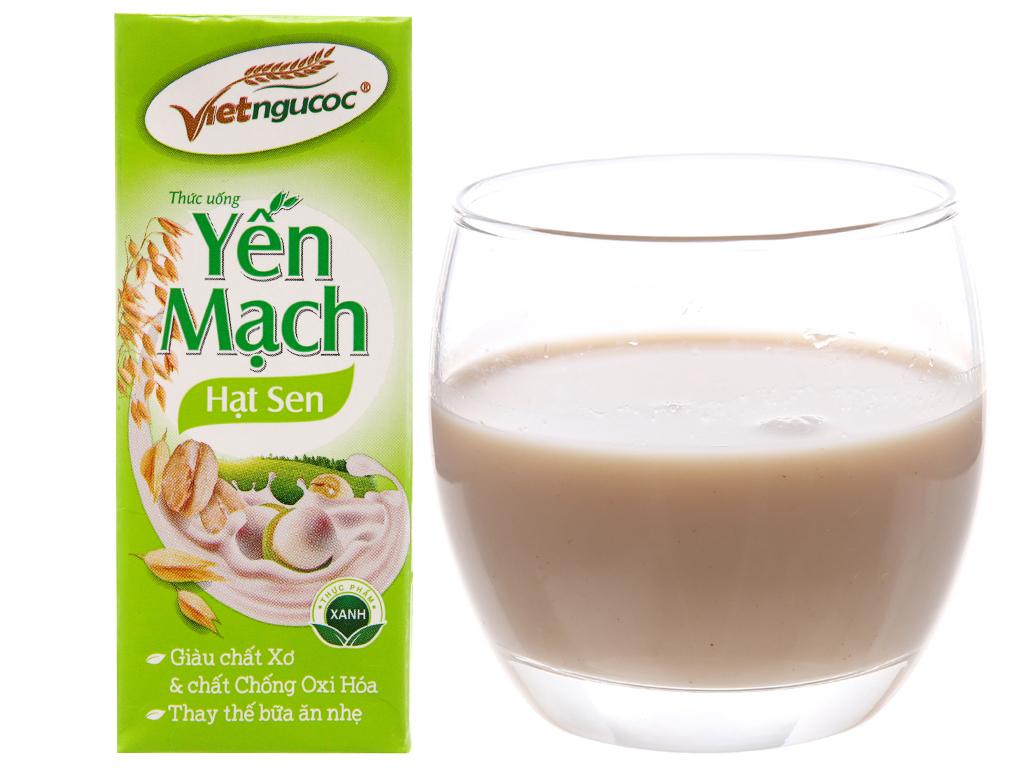 Lốc 4 hộp Thức uống yến mạch Việt Ngũ Cốc 180ml 2