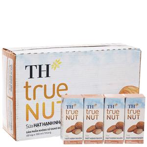 Thùng 48 hộp sữa hạt hạnh nhân TH True Nut 180ml