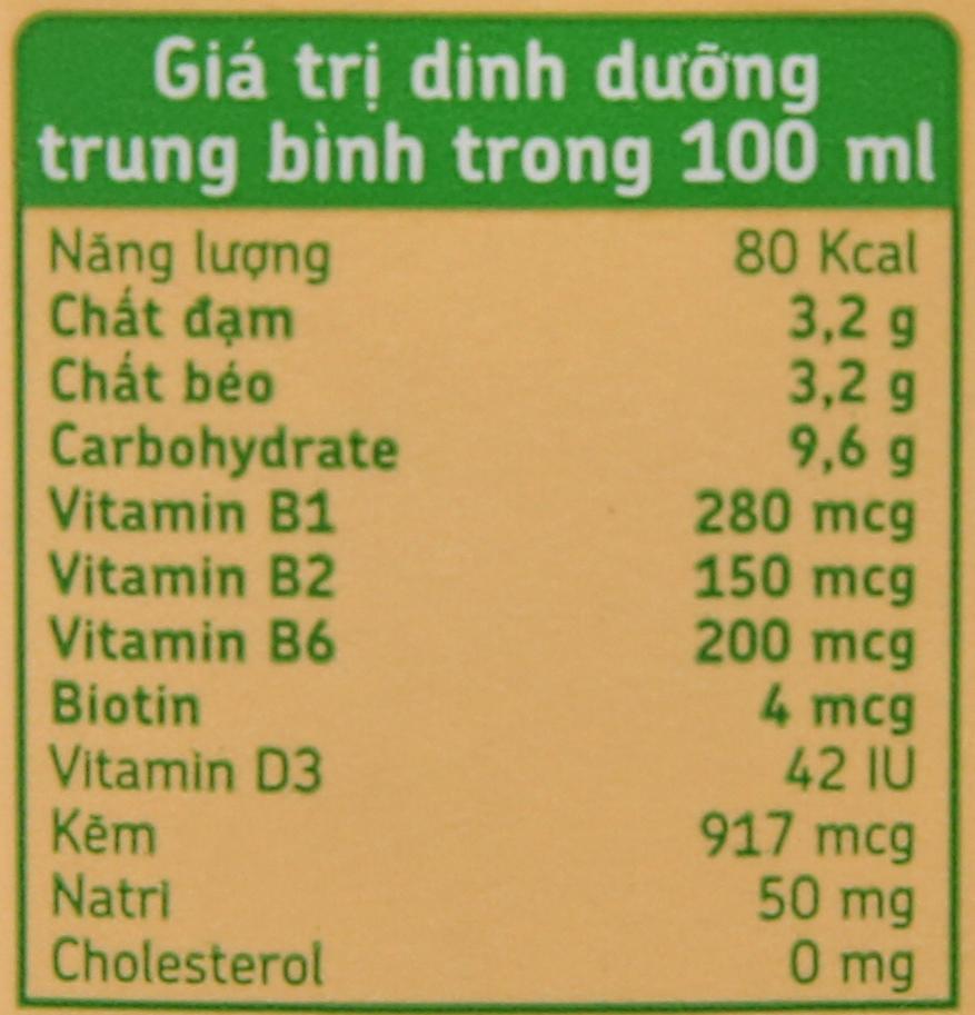 Sữa đậu nành đậu đỏ nếp cẩm Fami Go 200ml 6