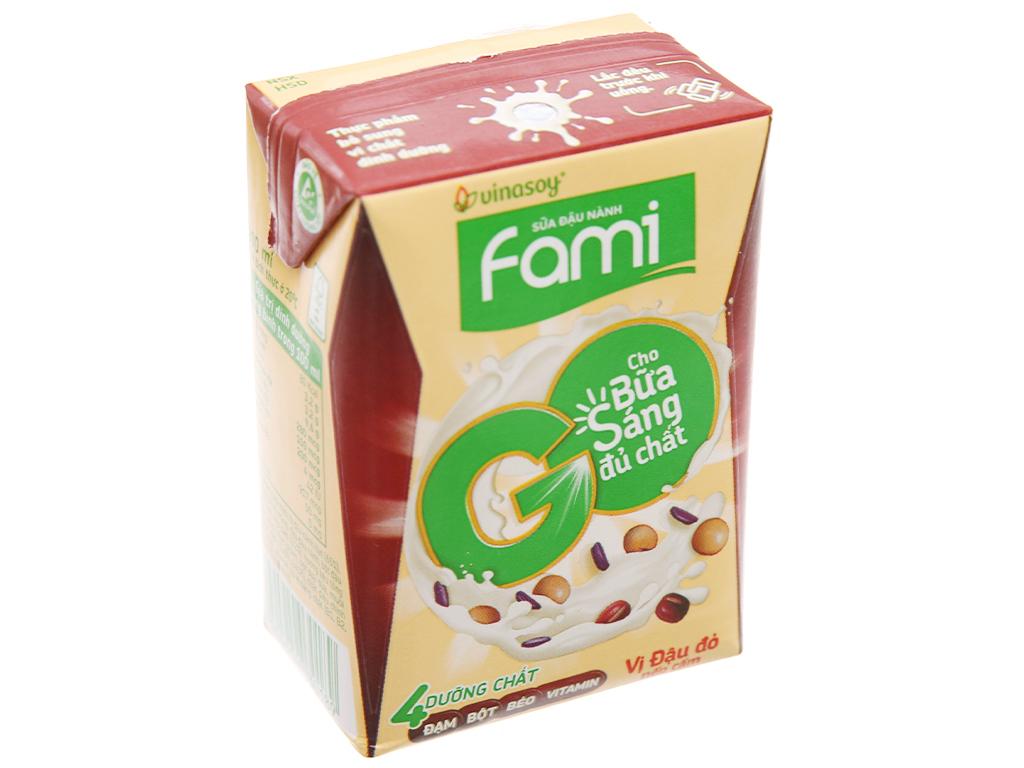 Sữa đậu nành đậu đỏ nếp cẩm Fami Go 200ml 2