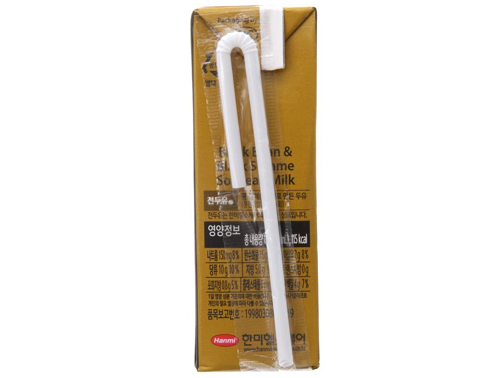 Thùng 16 hộp sữa đậu đen Hanmi 190ml 3
