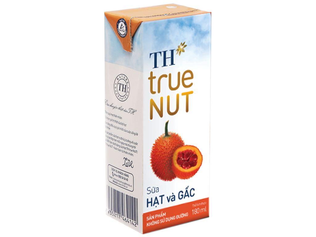 Sữa hạt và gấc TH True Nut 180ml 1