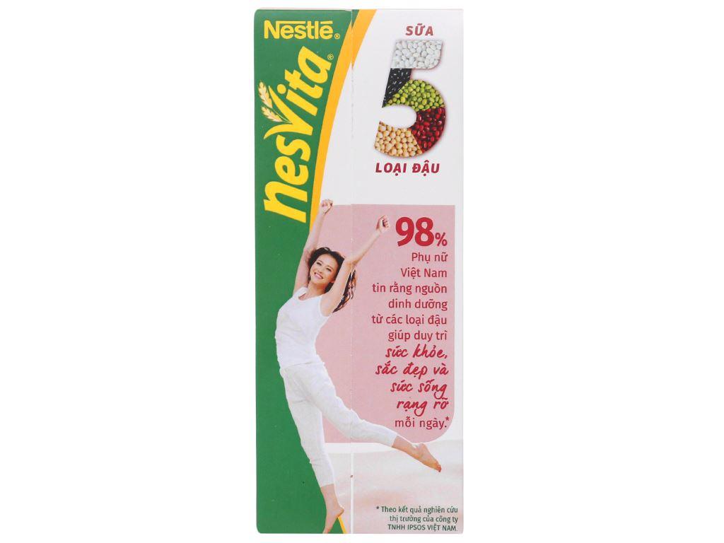 Lốc 3 hộp sữa 5 loại đậu có đường Nesvita 180ml 3