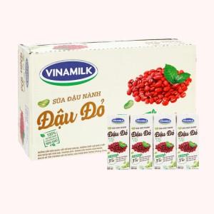 Thùng 48 hộp sữa đậu nành đậu đỏ Vinamilk 180ml