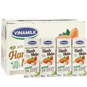 Thùng 48 hộp Sữa đậu nành Vinamilk hạnh nhân 180ml