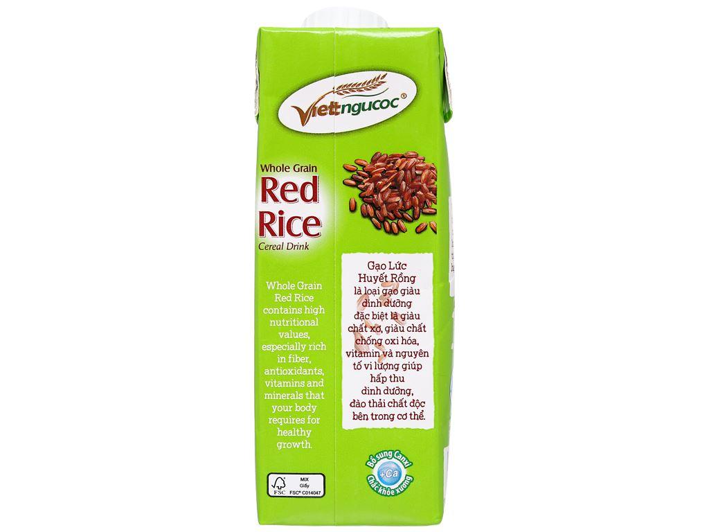Thùng 24 hộp thức uống gạo lức huyết rồng Việt Ngũ Cốc 250ml 7