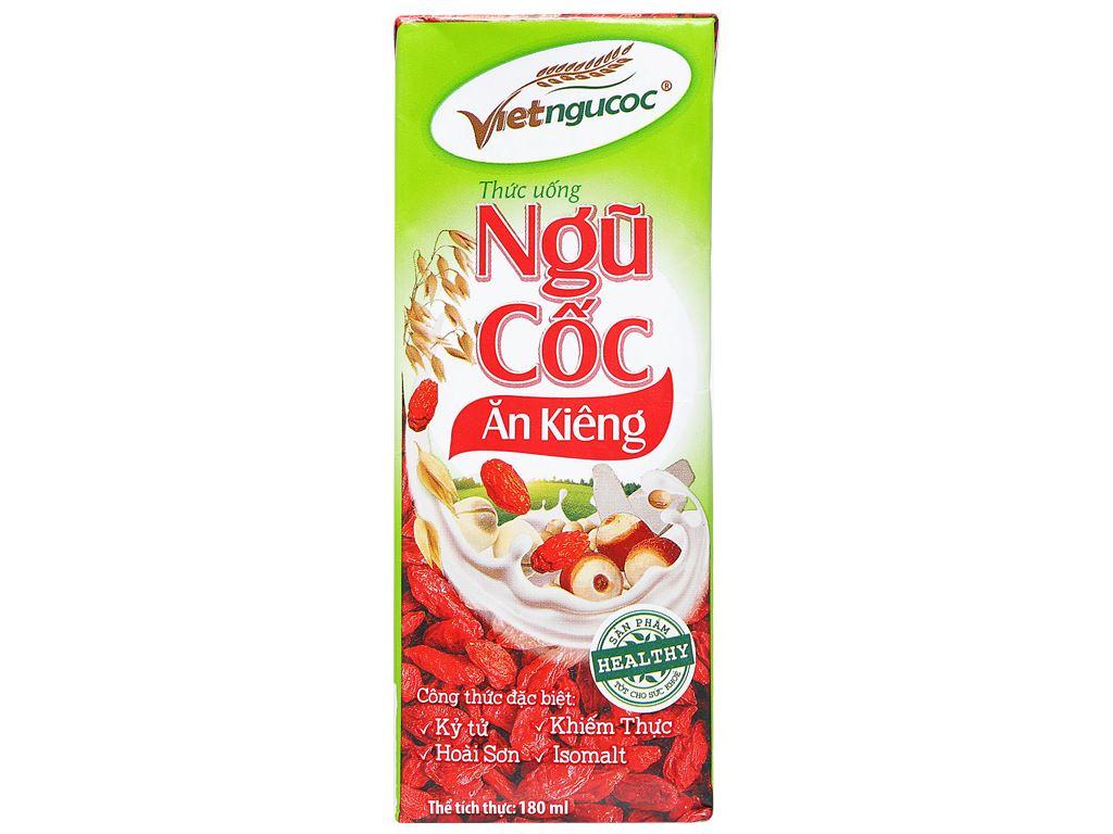 Thùng 40 hộp thức uống ngũ cốc ăn kiêng Việt Ngũ Cốc 180ml 6