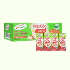 Thùng 40 hộp thức uống ngũ cốc ăn kiêng Việt Ngũ Cốc 180ml