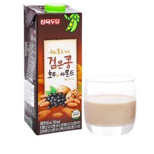 Sữa đậu đen óc chó hạnh nhân Sahmyook hộp 950ml