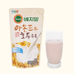 Sữa hạnh nhân và óc chó Vegemil bịch 190ml
