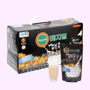 Thùng 20 bịch sữa đậu đen, hạnh nhân và óc chó Vegemil 190ml (chứa 100mg calcium)