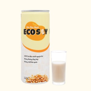 Sữa đậu nành Eco Soy lon 240ml