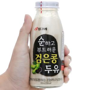 Sữa đậu nành và đậu đen Binggrae chai 200ml