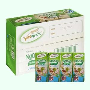 Thùng 40 hộp thức uống ngũ cốc dinh dưỡng dừa Việt Ngũ Cốc 180ml