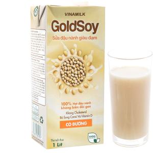 Sữa đậu nành có đường Vinamilk Goldsoy 1 lít
