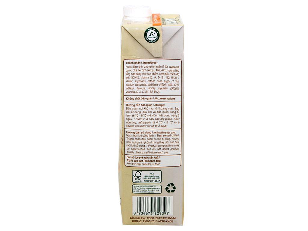 Sữa đậu nành có đường Vinamilk Goldsoy 1 lít 4