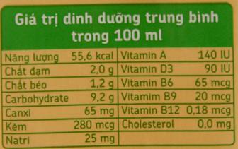 Sữa đậu nành Fami Canxi 200ml 6