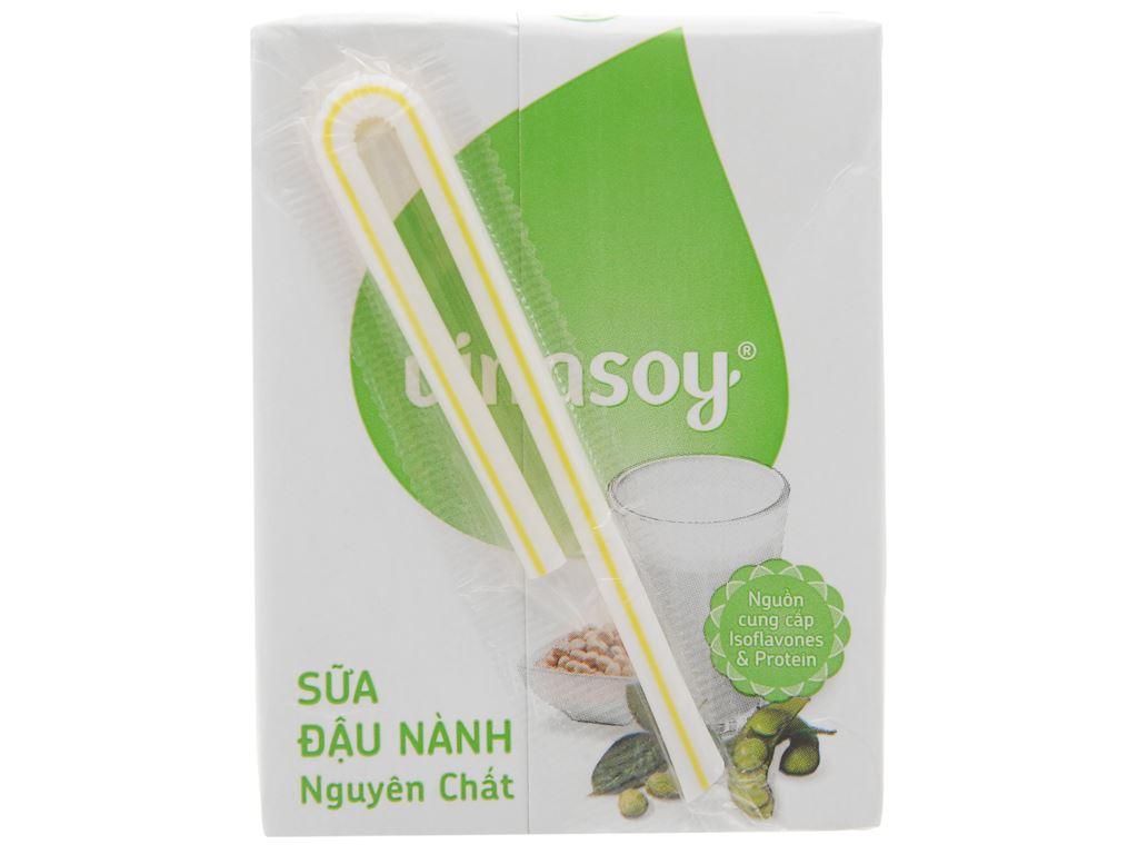 Sữa đậu nành Vinasoy nguyên chất 200ml 2