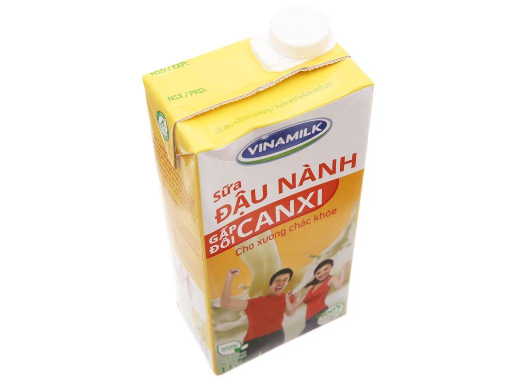 Sữa đậu nành Vinamilk Gấp đôi canxi 1 lít 3