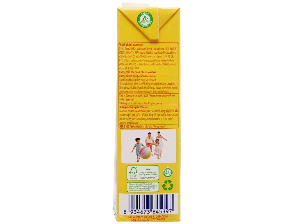 Sữa đậu nành Vinamilk Gấp đôi canxi 1 lít 4