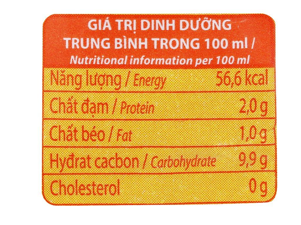 Sữa đậu nành Vinamilk Gấp đôi canxi bịch 220ml 3